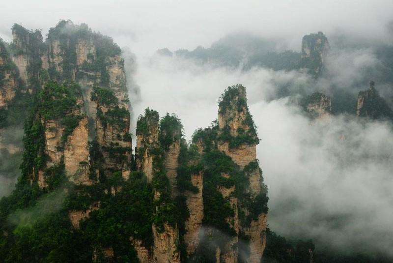 Горы Tianzi, Китай