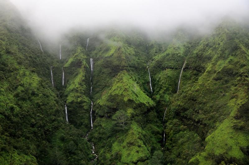 Водопад Хонокохау, Мауи