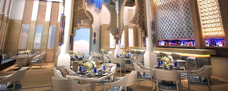 Ресторан средиземноморской кухни AZURA.