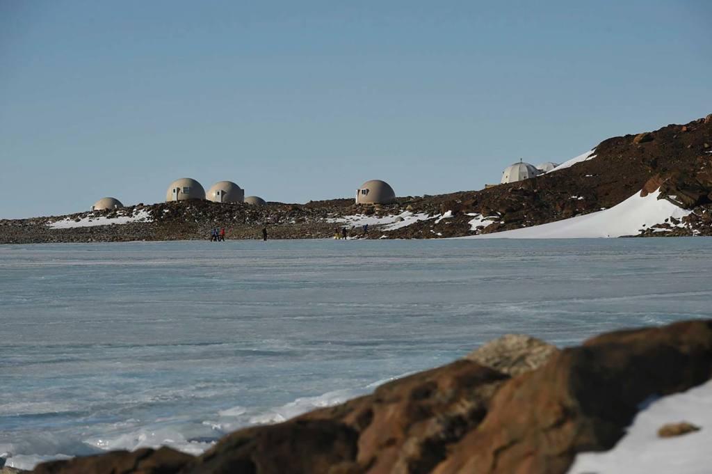 Отель в Антарктиде