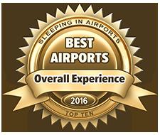Знак, отмечающий самые комфортабельные, чистые, дружелюбные, с развитой инфраструктурой аэропорты.