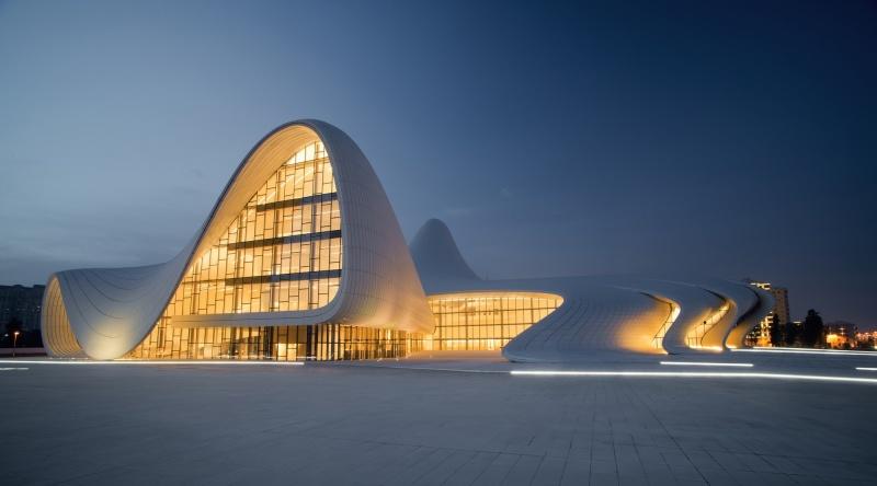 Культурный центр Гейдара Алиева, Баку