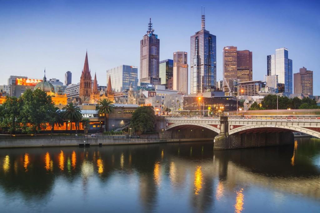 №1. Мельбурн.