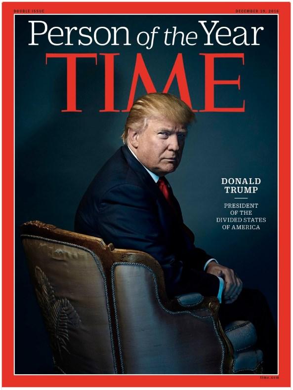 Дональд Трамп Человек Года