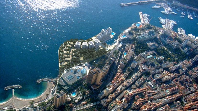Побережье Лавротто - новая территория Монако