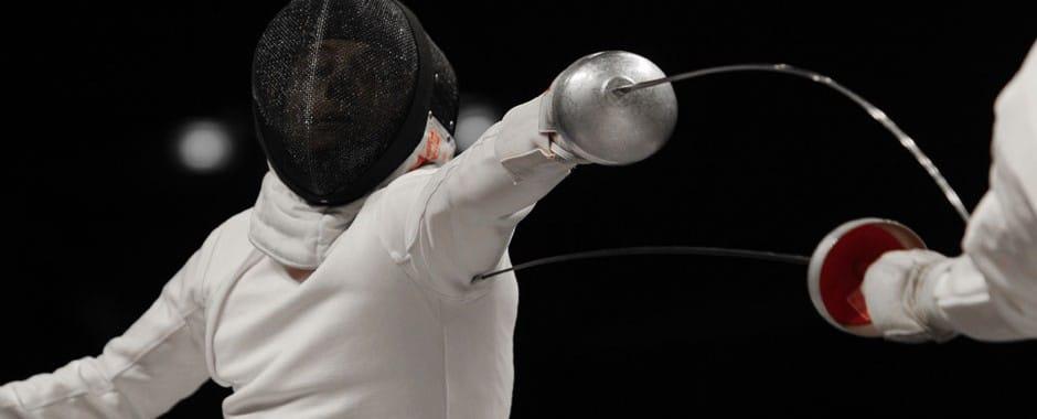 Международный турнир по фехтованию.