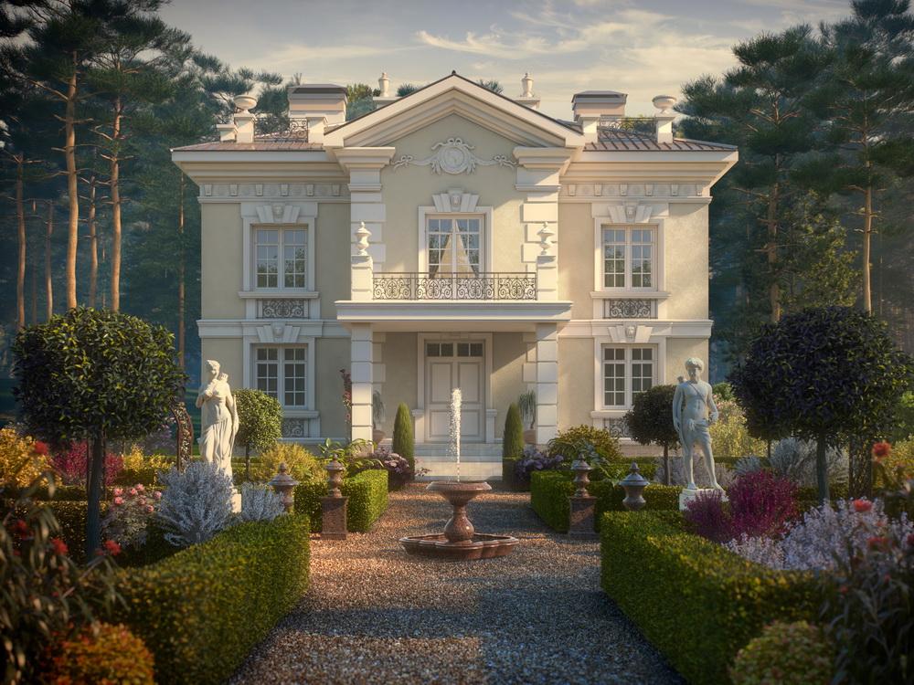 Великолепные ландшафтные решения поселка органично сочетаются с живописными пейзажами, окружающими «Ренессанс Парк».