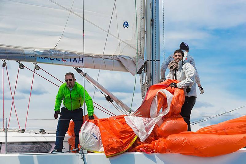 Борис Голиков на яхте