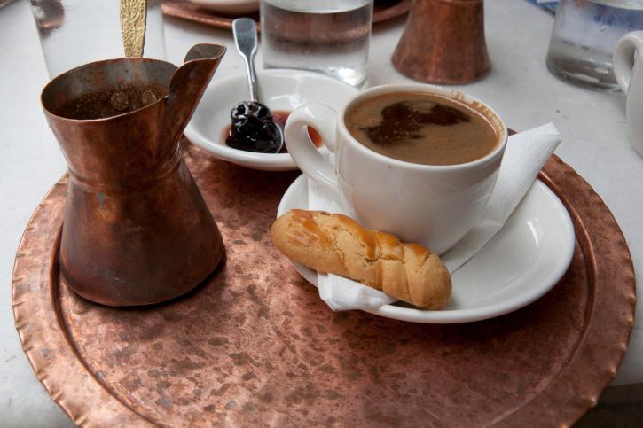 кофе по-гречески