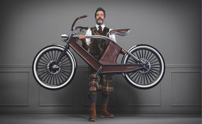 Cykno electric bicycle.