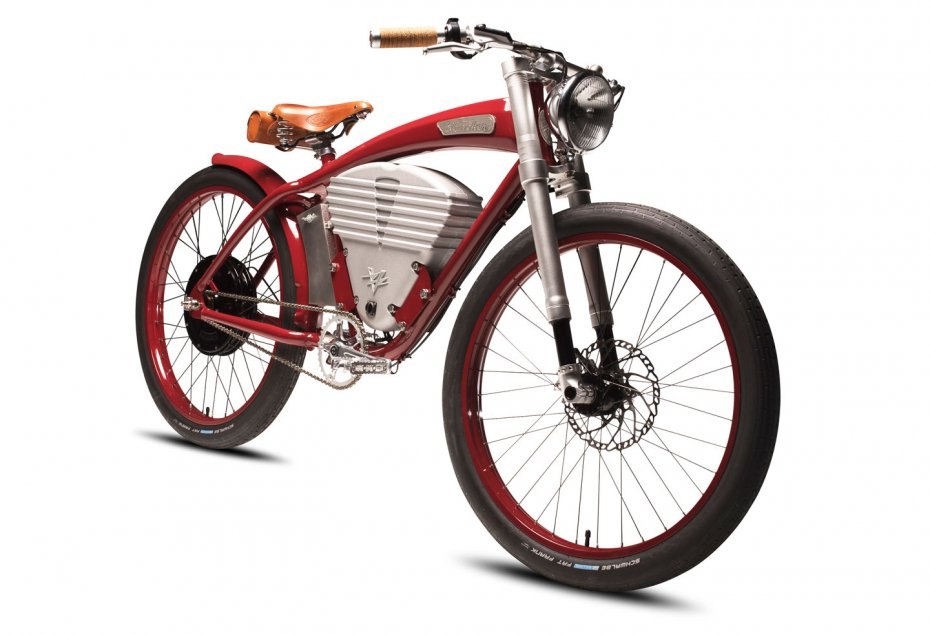 Vintage Electric Bicycle's The Tracker.