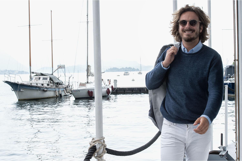 Основатель проекта Nowboat.com Джованни Алесси Ангини