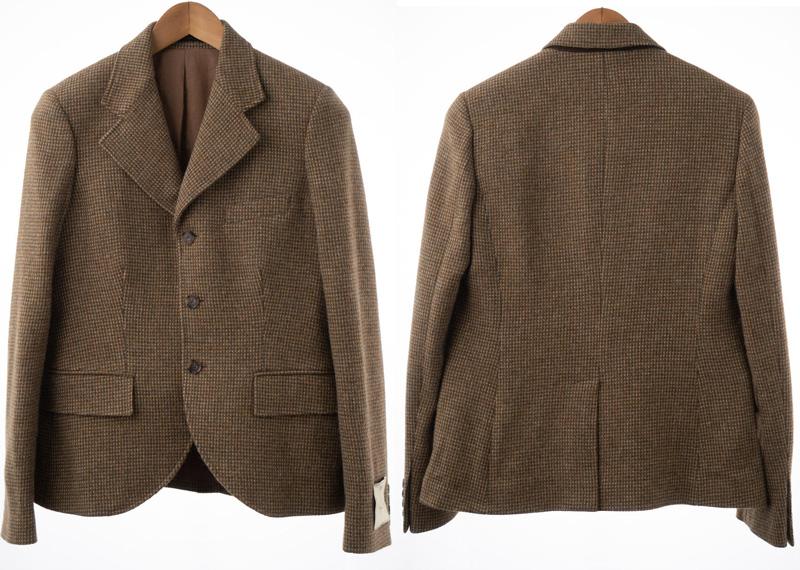 Коричневый пиджак