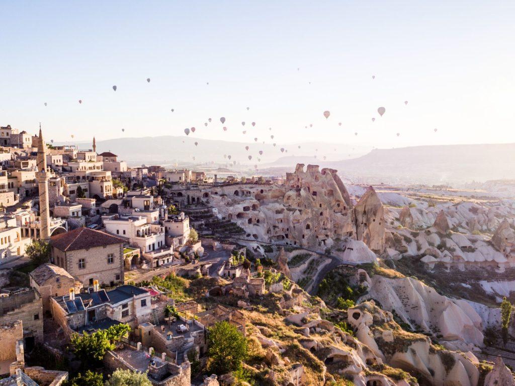 необычный отель в Турции