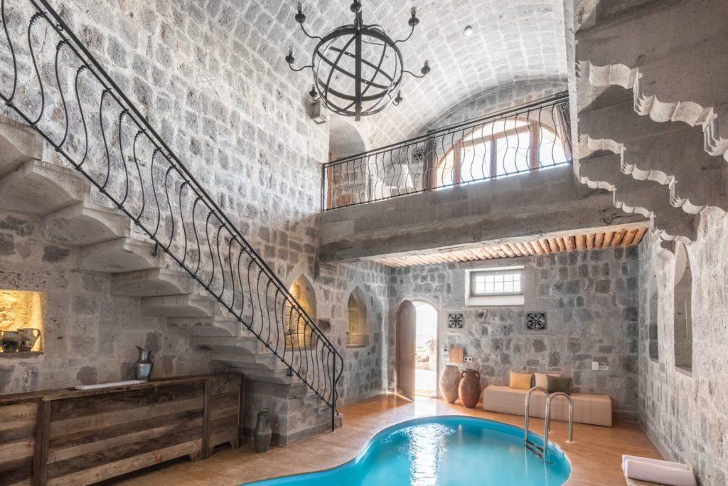В отеле Argos in Cappadocia 40 номеров, из которых 4 Splendid suite с бассейном