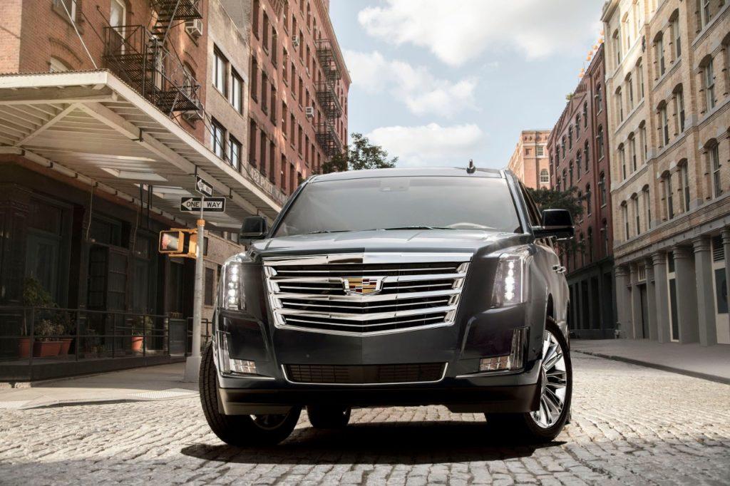 Внедорожник Cadillac Escalade четвертого поколения