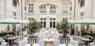 Изысканная кухня в Hôtel de Crillon