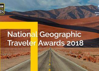 Конкурс National Geographic Traveler Awards-2018