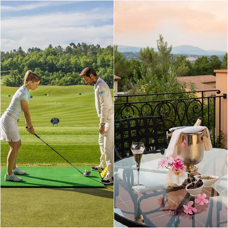 Terre Blanche Hotel Spa Golf Resort - гольф курорт в Туррете