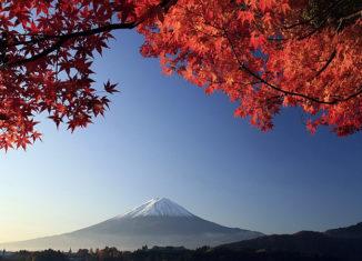 осеняя Япония