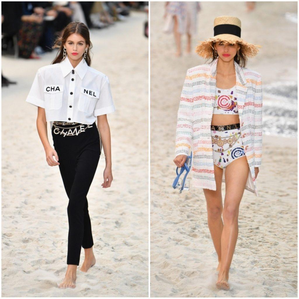 Chanel показ весна лето 2019