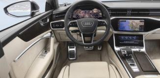Audi A7 interier