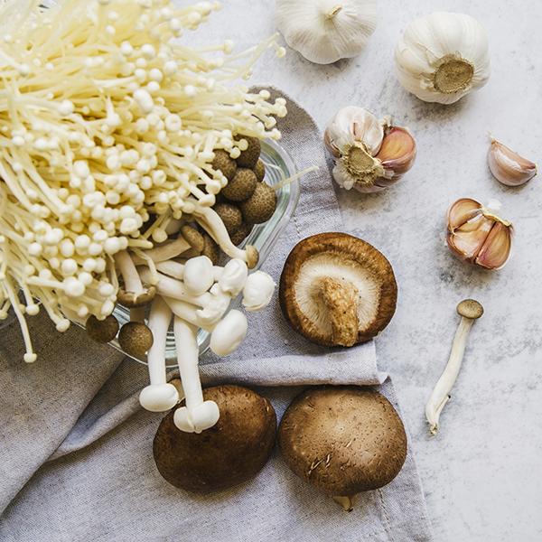 как приготовить грибы вешенки с чесноком