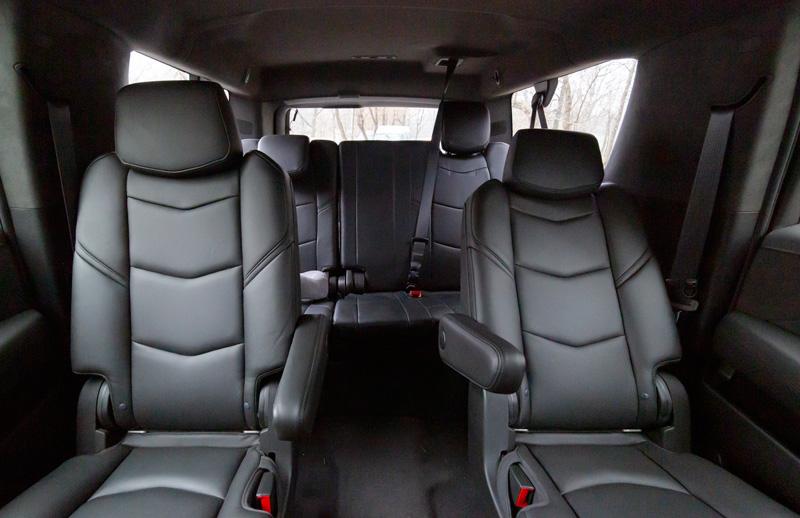 салон Cadillac Escalade esv